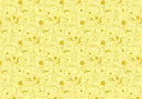 Ткань Сакура компания желтая