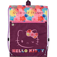 Сумка для обуви Kite с карманом 601 Hello Kitty HK17-601M