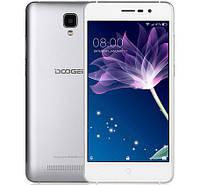 Смартфон ORIGINAL Doogee X10 Silver (2Х1.3Ghz; 0.5Gb/8Gb; 5МР/2МР; 3360 mAh)