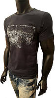 Мужская футболка, GUESS by Marciano, турецкие трикотажные футболки 95% Cotton, 5% Lycra