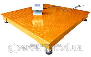 Платформенные электронные весы ЗЕВС-Эконом ВПЕ-4 1000х1000мм, НПВ: 500 кг