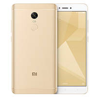 Смартфон ORIGINAL Xiaomi Redmi Note 4X Gold (8Х2,0Ghz; 3Gb/16Gb; 13МР/5МР; 4100 mAh)