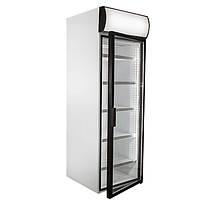 Шкаф холодильный со стеклянной дверью и лайт-боксом Polair (DM105-S, DM107-S)
