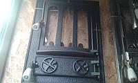 """Печные Дверцы(дверки) Чугунные со Стеклом """"Перегородка """" .Цена актуальная цена"""