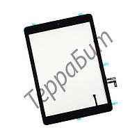 Тачскрин (сенсор) iPad 5 Air, цвет черный, с кнопкой