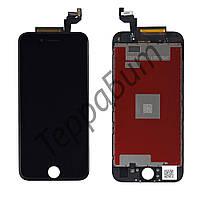 Дисплей iPhone 6S (4.7) с тачскрином в сборе (цвет черный), копия высокого качества