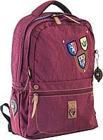 Рюкзак подростковый Oxford OX 194 бордовый 28.5*44.5*13.5см, 553998