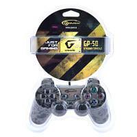 """Геймпад Gemix GP-50 Khaki USB (Платформы: PC, Кнопка """"Turbo"""", Кл. Кнопок: 12 Подключение: проводной, Сб. Связь"""