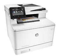 Принтер лазерный МФУ HP Color LaserJet Pro MFP M477fnw фотопринтер, Wi-Fi