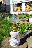 Шикарная антикварная керосиновая лампа! Германия!, фото 1
