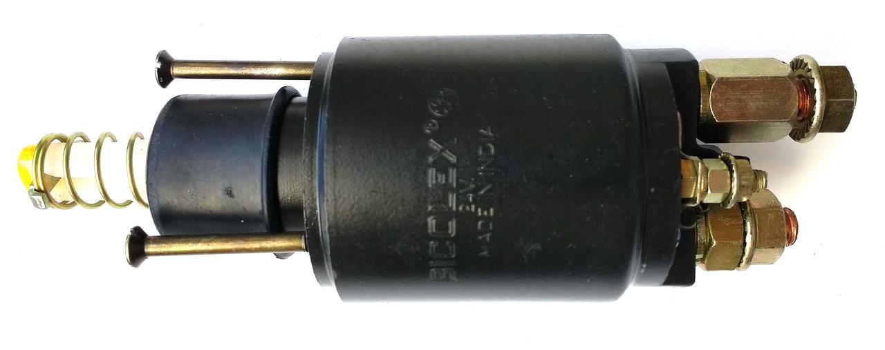 Втягивающее реле  стартера BOSCH 24V Bicolex