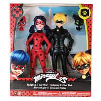Подарочный набор: куклы Леди Баг и Супер кот шарнирные с питомцами, серия Базовые (26 см), фото 1
