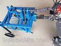 Картофелекопалка КМ - 3 (ВОМ) для мотоблока 1100-6, фото 6