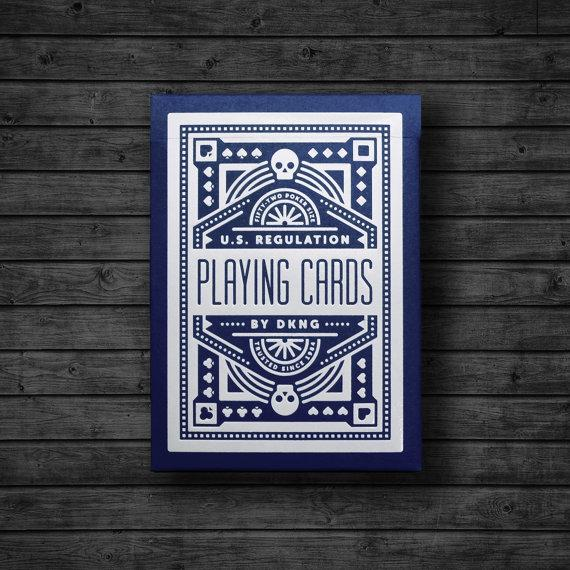 Карты игральные   Blue Wheel Playing Cards