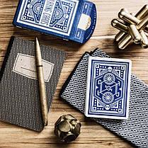 Карты игральные   Blue Wheel Playing Cards, фото 3