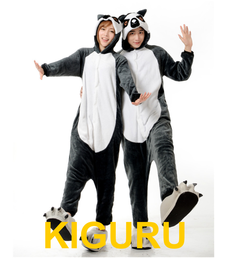 Костюм лемура пижама кигуруми