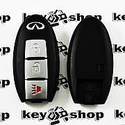 Оригинальный ключ Infinity (Инфинити) 2 кнопки + 1 (panic), чип ID46 c частотой 315 MHz