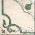 Плитка напольная Интеркерама Кастелло 43x43 зеленый 012