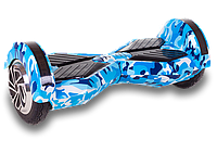Smart Balance lambo U6 - 8 LED Blue Camo