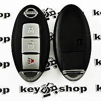 Смарт ключ для NISSAN (Ниссан) корпус 2 - кнопки + 1 кнопка (PANIK), 315 Mhz