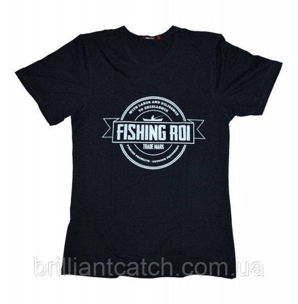 Футболка Fishing ROI темно-синяя  (XL)