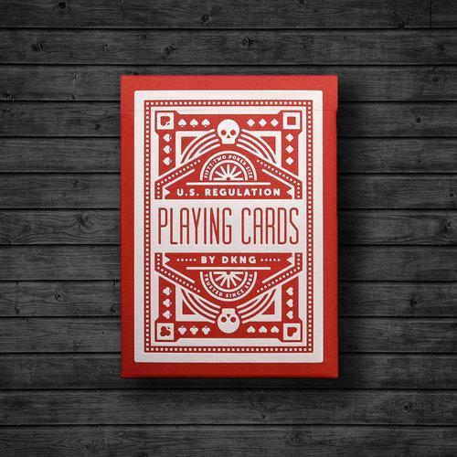 Карты игральные   Red Wheel Playing Cards