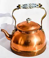 Антикварный чайник,заварник! Portugal. Медь,1,5 л.