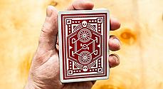 Карты игральные   Red Wheel Playing Cards, фото 2
