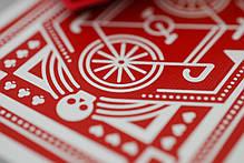 Карты игральные   Red Wheel Playing Cards, фото 3