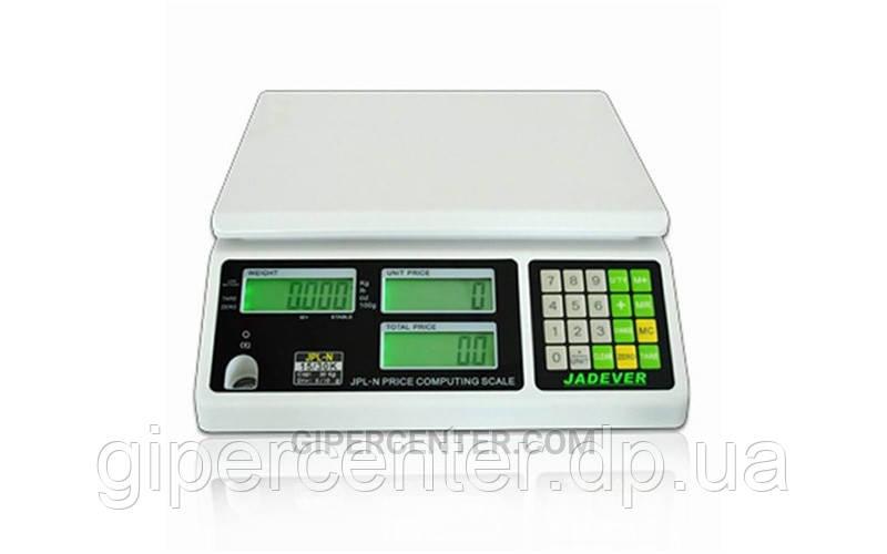Торговые электронные весы Jadever JPL-N1506 до 6 кг