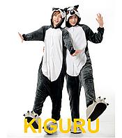 Костюм лемура пижама кигуруми M (160-170cm)