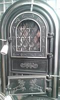 """Дверцы дверцы( дверки) печные со стеклом """"Олени хромированные"""" для кухни ,барбекю. В наличии"""