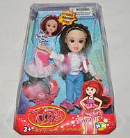 Стильная кукла с нарядами