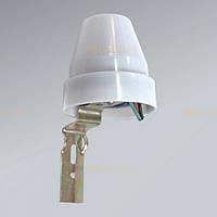 Фотореле (фотоэлемент) датчик освещённости Feron SEN 26 (LXP02) 10А белый, фото 1