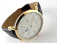 Часы Bvlgari - quartz, белый циферблат в золотистым корпусом