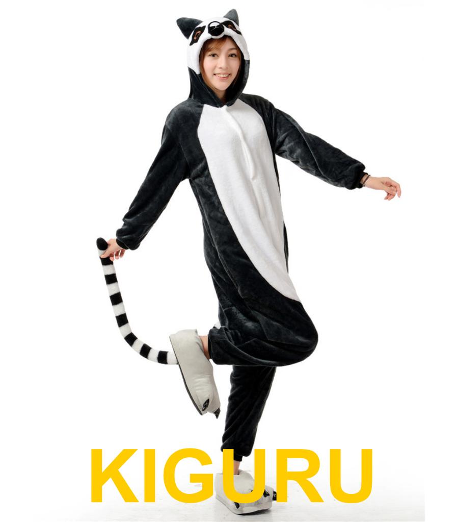 Кигуруми лемур пижама