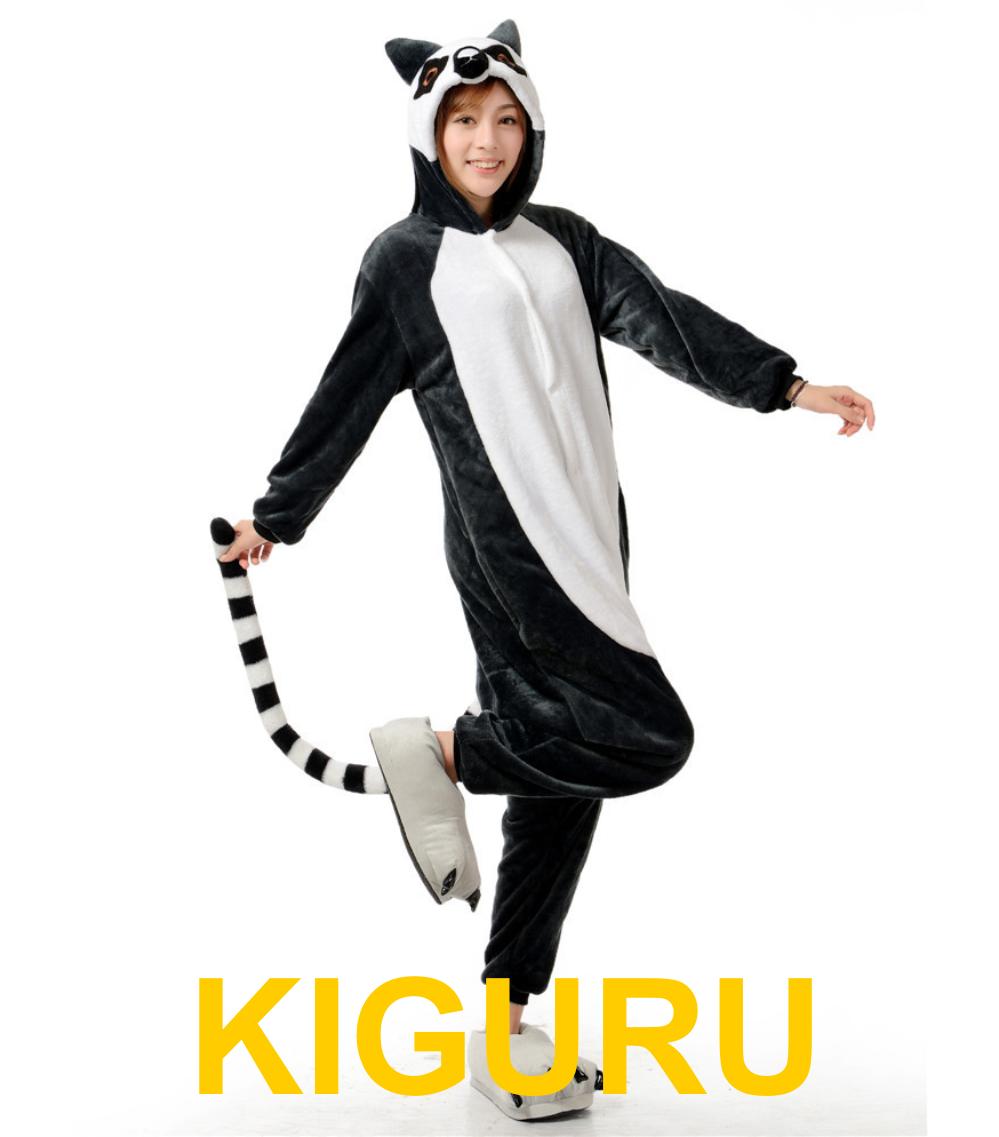 Кигуруми лемур пижама ba253941951e8