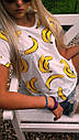 Футболка женская бананы, фото 2