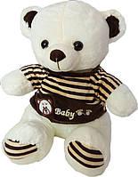 Мягкая игрушка «Плюшевый мишка Боб в кофточке 50 см»