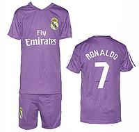 Футбольная форма ФК Реал Мадрид R8 для детей 6-10 лет оптом. Доставка из Одессы.