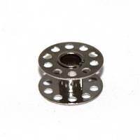 Шпулька для бытовых машинок универсальная металл d20,5/d6 h11.7