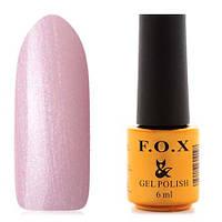 Гель-лак F.O.X  6 мл pigment №053 (нежно-розовый с мелкими блестками)