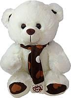 Мягкая игрушка «Плюшевый мишка с шарфиком 40 см»