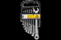 Topex Ключи комбинированные, 6-19 мм, набор 8 шт.