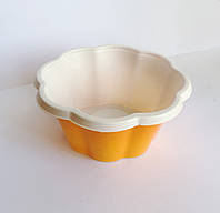 Креманка ДЖОЙ для морозива, помаранч. (V-210 мл) 1/800