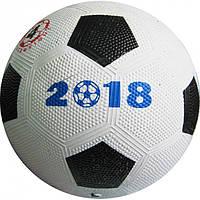 Резиновый футбольный мяч