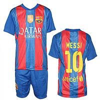 """Футбольная форма на детей и подростков """"Барселона"""" недорого MC1-14"""