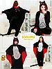 Пижама кигуруми костюм хеллоуин летучая мышь, фото 2