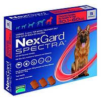 Нексгард Спектра от блох, клещей и гельминтов для собак 30 - 60 кг., 3 таб.