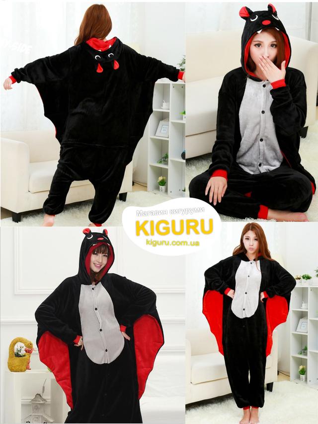Пижама кигуруми костюм хеллоуин летучая мышь  Лучшая цена и отличный ... d9d0eee0a84a1